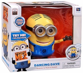 Despicable Me 2 DELUXE Singing Action Figure with Sound Dancing Dave [Grooves to Music & Sound]