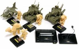 Metal Slug Neo Geo Takara Tomy A.R.T.S Set of 5 Multi-Part Gashapon Models