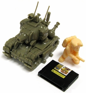 Metal Slug Neo Geo Takara Tomy A.R.T.S Multi-Part Gashapon Model Super Vehicle Metal Slug 001/I Version 1