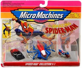 Micro Machines Spider-Man Collection #1