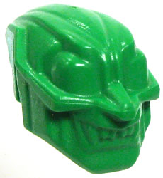 LEGO LOOSE Accessory Green Green Goblin Mask
