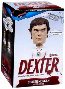 Dexter Bif Bang Pow! Talking Bobble Head Dexter Morgan