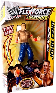 Mattel WWE Wrestling FlexForce Lightning Fist Poundin' John Cena BLOWOUT SALE!