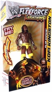 Mattel WWE Wrestling FlexForce Lightning Flip Kickin' Kofi Kingston BLOWOUT SALE!