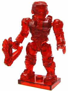 Halo Wars Mega Bloks LOOSE Mini Figure UNSC Ruby Master Chief with Needler Ultra Rare Chase!