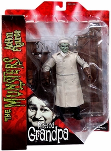 The Munsters Diamond Select 7 Inch Action Figure Hot Rod Grandpa