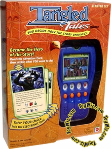Mattel Handheld Electronic Game Tangled Tales Starter Set