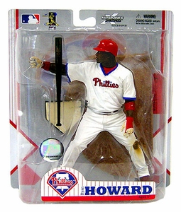 McFarlane Toys MLB Sports Picks Exclusive Action Figure Ryan Howard (Philadelphia Phillies) Home Alternate Jersey