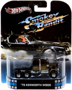 Hot Wheels Retro Smokey & the Bandit 1:55 Die Cast Car '75 Kenworth W900