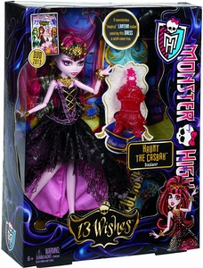 Monster High 13 Wishes Haunt the Casbah Deluxe Doll Draculaura