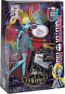 Monster High 13 Wishes Deluxe Doll Lagoona Blue