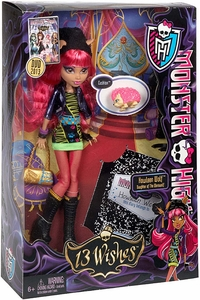 Monster High 13 Wishes Deluxe Doll Howleen Wolf