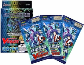 Cardfight Vanguard ENGLISH Trial Starter Deck Descendants of Marine Emperor Value Bundle [Trial Deck & 3 Blue Storm Armada Boosters]