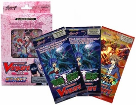 Cardfight Vanguard ENGLISH Trial Starter Deck Maiden Princess of Cherry Blossoms Value Bundle [Trial Deck & 2 Demonic Lord Invasion & 1 Onslaught of Dragon Souls Booster Packs]