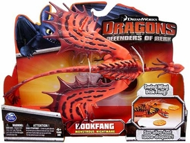 Dragons Defenders of Berk Action Figure Hookfang {Monstrous Nightmare} [Swing Wing Disk Fling]