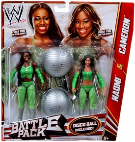 Mattel WWE Wrestling Basic Series 24 Action Figure 2-Pack Cameron & Naomi [The Funkadactyls]