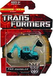 Transformers: Generations Minicons 2 Inch Action Figure Pan-Handler [Backhoe]