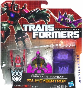Transformers Generations Legends Action Figure 2-Pack Decepticon Frenzy & Ratbat [Fall of Cybertron]