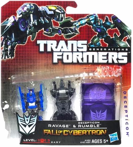Transformers Generations Legends Action Figure 2-Pack Ravage & Decepticon Rumble [Fall of Cybertron]