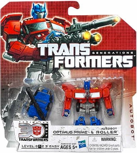 Transformers Generations Legends Action Figure 2-Pack Optimus Prime & Autobot Roller