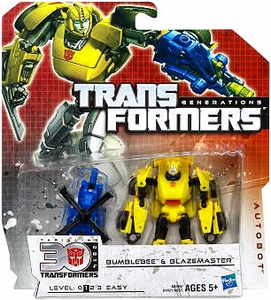 Transformers Generations Legends Action Figure 2-Pack Bumblebee & Blazemaster