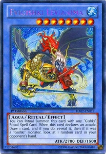 YuGiOh Zexal Hidden Arsenal 7: Knight of Stars Single Card Secret Rare HA07-EN017 Evigishki Levianima