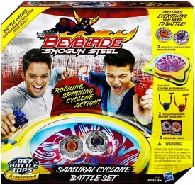 Beyblades Shogun Steel Samurai Cyclone Battle Set
