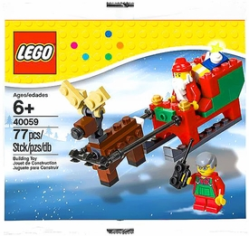 LEGO Exclusive 2013 Holiday Set #40059 Santa's Sleigh [Bagged]