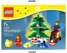 LEGO Exclusive 2013 Holiday Set #40058 Decorating the Tree [Bagged]