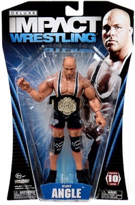 TNA Wrestling Deluxe Impact Series 10 Action Figure Kurt Angle