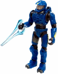 Halo 2 Loose Mini Action Figure 1/18 Scale Slayer Master Chief [Blue]