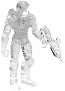 Halo 2 Loose Mini Action Figure 1/18 Scale Slayer Master Chief [Active Camo]