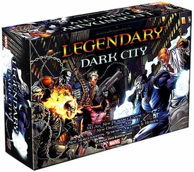 Legendary Upper Deck Marvel Deck Building Game Dark City Expansion