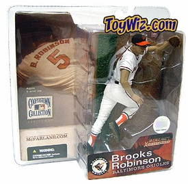 McFarlane Toys MLB Cooperstown Series 1 Action Figure Brooks Robinson (Baltimore Orioles) White Jersey