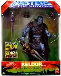 He-Man Masters of the Universe SDCC 2003 San Diego Comic-Con Exclusive Action Figure Keldor Only 3,000 Made!