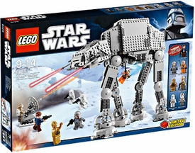 LEGO Star Wars Exclusive Set #8129 AT-AT Walker Damaged Packaging, Mint Contents!