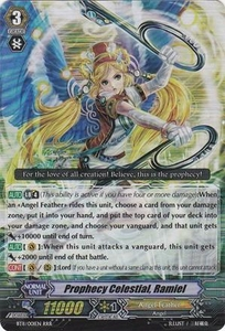 Cardfight Vanguard ENGLISH Seal Dragons Unleashed Single Card RRR Rare BT11/001 Prophecy Celestial, Ramiel