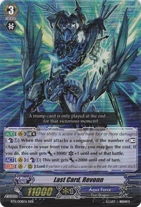 Cardfight Vanguard ENGLISH Seal Dragons Unleashed Single Card RRR Rare BT11/008 Last Card, Revonn