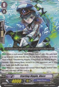 Cardfight Vanguard ENGLISH Seal Dragons Unleashed Single Card Rare BT11/042 Starting Ripple, Alecs