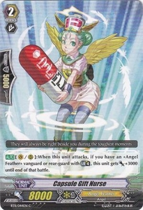 Cardfight Vanguard ENGLISH Seal Dragons Unleashed Single Card Common BT11/044 Capsule Gift Nurse