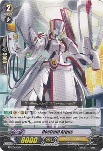 Cardfight Vanguard ENGLISH Seal Dragons Unleashed Single Card Common BT11/045 Doctroid Argus