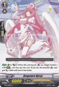Cardfight Vanguard ENGLISH Seal Dragons Unleashed Single Card Common BT11/048 Drugstore Nurse