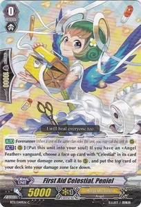 Cardfight Vanguard ENGLISH Seal Dragons Unleashed Single Card Common BT11/049 First Aid Celestial, Peniel