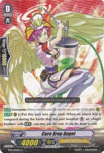 Cardfight Vanguard ENGLISH Seal Dragons Unleashed Single Card Common BT11/050 Cure Drop Angel