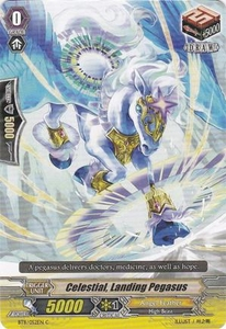 Cardfight Vanguard ENGLISH Seal Dragons Unleashed Single Card Common BT11/052 Celestial, Landing Pegasus