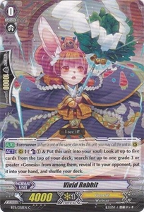Cardfight Vanguard ENGLISH Seal Dragons Unleashed Single Card Common BT11/058 Vivid Rabbit