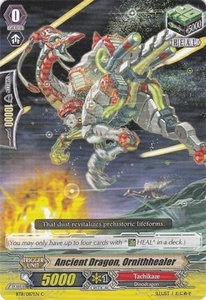 Cardfight Vanguard ENGLISH Seal Dragons Unleashed Single Card Common BT11/087 Ancient Dragon, Ornithhealer