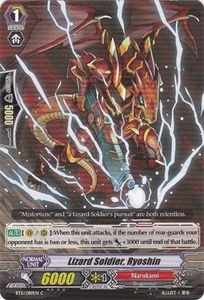 Cardfight Vanguard ENGLISH Seal Dragons Unleashed Single Card Common BT11/089 Lizard Soldier, Ryoshin