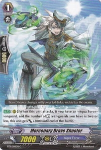 Cardfight Vanguard ENGLISH Seal Dragons Unleashed Single Card Common BT11/096 Mercenary Brave Shooter