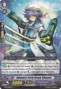 Cardfight Vanguard ENGLISH Seal Dragons Unleashed Single Card Common BT11/098 Advance Party Brave Shooter